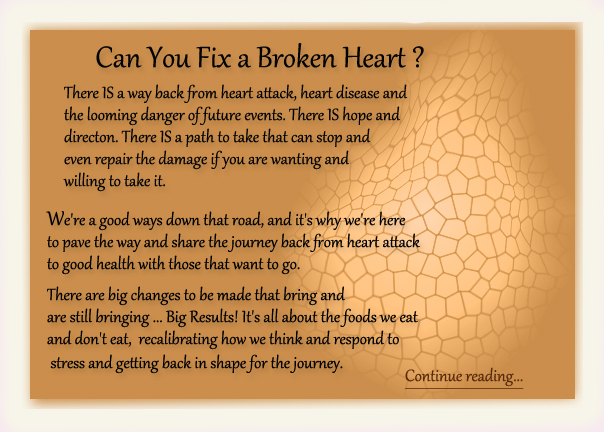 Can You Fix a Broken Heart?