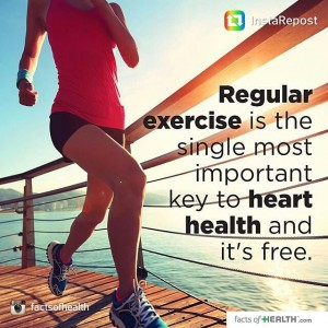 Great message! exercise cardio hearthealth