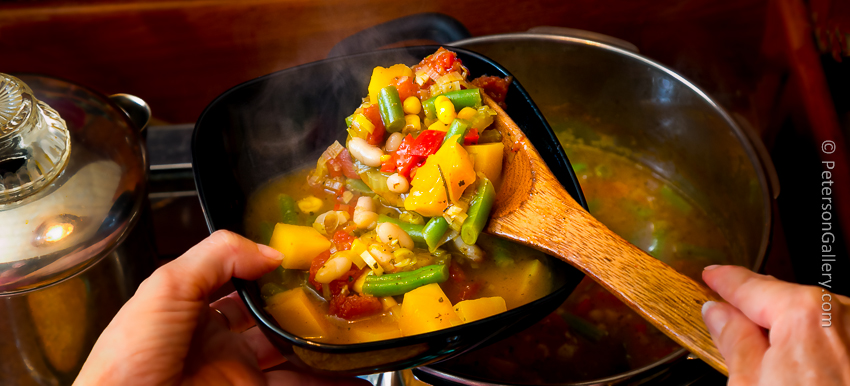 Late Summer Minestrone with Butternut Squash and Fresh Corn