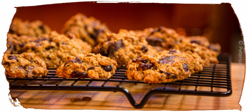Heart Healthy Orange Chocolate Chip Cookies