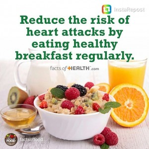 repost from factsoffood hearthealthy breakfast healthyliving