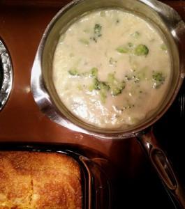 Potato Leek Broccoli Soup Testing