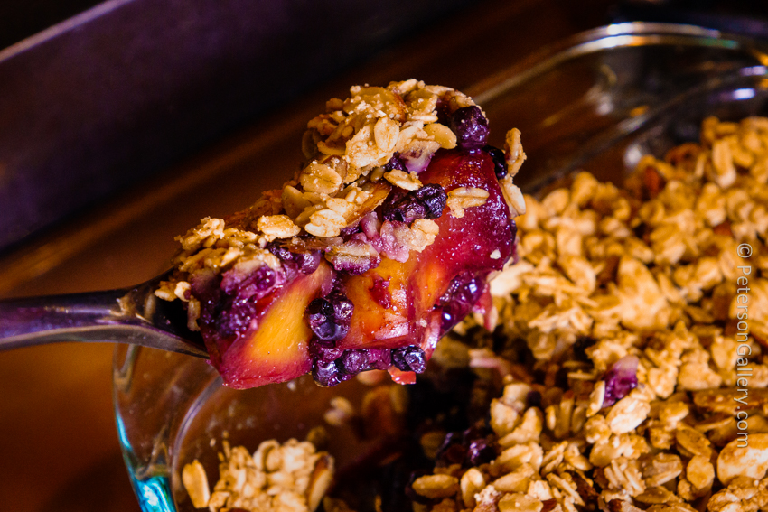 Blueberry Nectarine Crumble