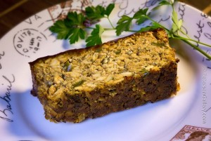 Delicious veggie meatloaf with a spicy glaze new on thehellip