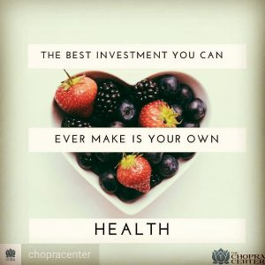 Simple but powerful message investinyourself hearthealth