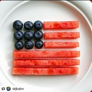 Have a funfilled 4th! And eat some hearthealthy watermelon